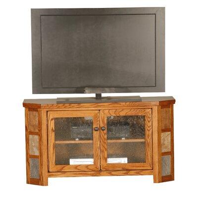 Cheap Eagle Industries Flagstaff 45″ TV Cart Finish: Sandy Oak (EAI1041_6221436)