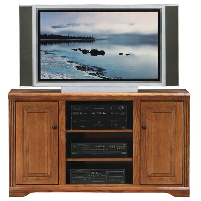 Cheap Eagle Industries Oak Ridge 55″ Thin-Screen TV Stand Finish: Medium Oak (EAI1046_6221462)