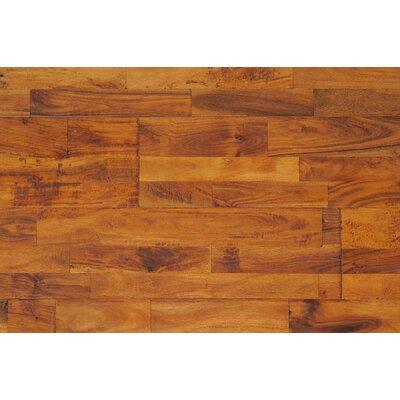 Rustic Elegance 7.88 Solid Acacia Hardwood Flooring in Prairie