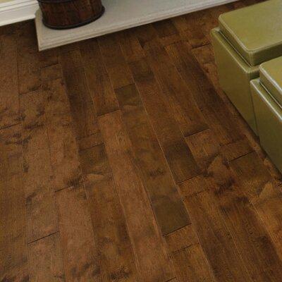 Island 6.38 Engineered Birch Hardwood Flooring in Brown