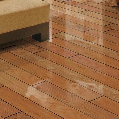 Local Plank 4.9 Engineered American Cherry Hardwood Flooring in Brown