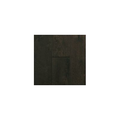 Island 6-3/8 Engineered Birch Hardwood Flooring in Burnt Walnut