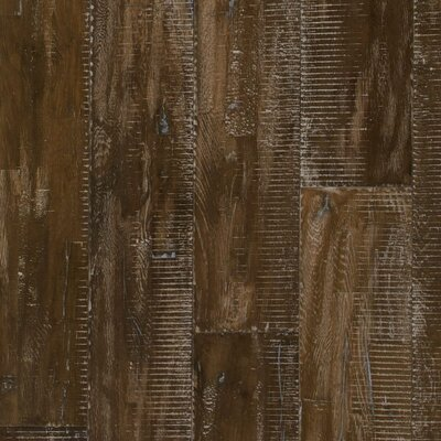 Rustic Elegance 7-7/8 Solid Oak Hardwood Flooring in Doused Chestnut