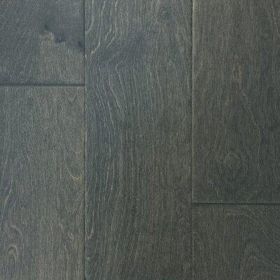 Island 6-3/8 Engineered Birch Hardwood Flooring in Garden Gray