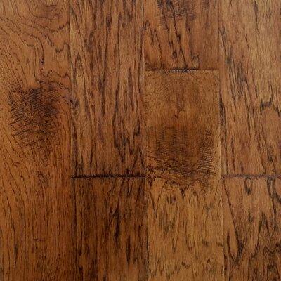 Farm Plank 5 Engineered Hickory Hardwood Flooring in Grain