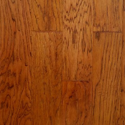 Farm Plank 5 Engineered Hickory Hardwood Flooring in Mulch