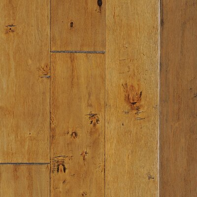 Legion Plank 4.9 Engineered Maple Hardwood Flooring in Potomac Brown