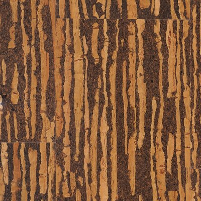 Bobber 11.75 Cork Hardwood Flooring in Brown