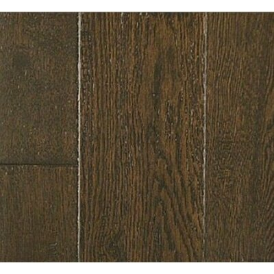 0.5 x 1.88 x 94.5 Oak Threshold in Dark Leather