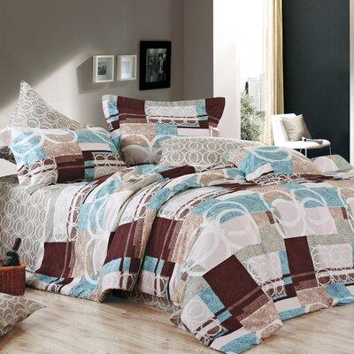 Woodrum 220 Thread Count 100% Cotton Sheet Set Size: Queen