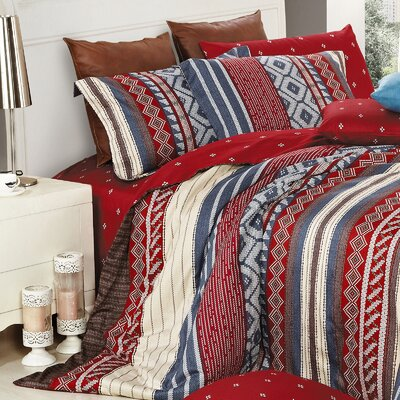 Algonquin 220 Thread Count Cotton Sheet Set Size: Queen