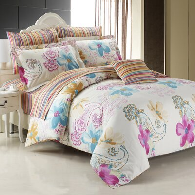 Mirage Duvet Cover Set Size: King