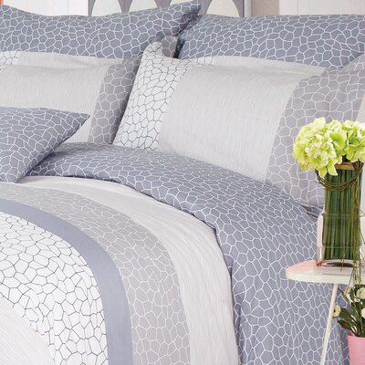 Water Cube 220 Thread Count 100% Cotton Sheet Set Size: Queen