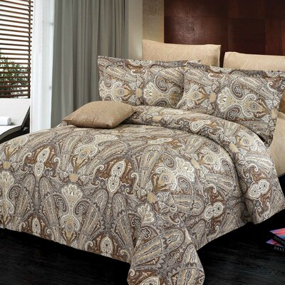 Concord Reversible Duvet Set Size: Twin