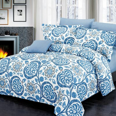 Palmer Reversible Duvet Set Size: Queen