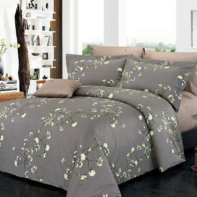 Trellis 200 Thread Count Sheet Set Size: Twin