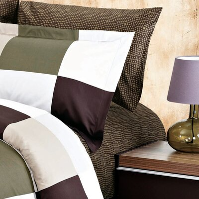 Park 200 Thread Count Sheet Set Size: Queen, Color: Brown