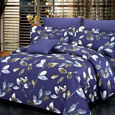 Mystery Reversible Duvet Set Size: Queen