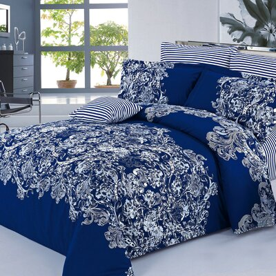Alexis Reversible Duvet Set Size: Queen