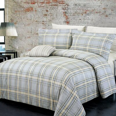 Campus Reversible Duvet Set Size: Twin