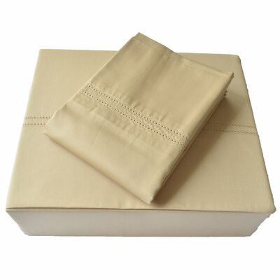 Regal 620 Thread Count 100% Cotton Sheet Set Size: King, Color: Taupe