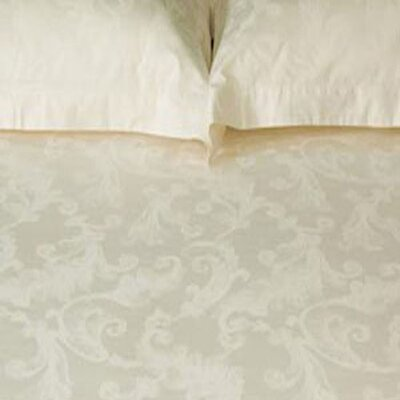 Roma Duvet Cover Set in Ivory Size: Queen