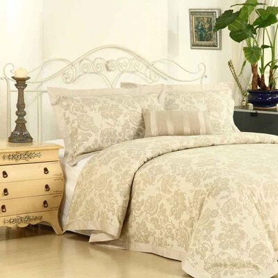 Yolanda 4 Piece Duvet Cover Set Size: Queen