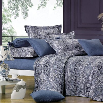 Lauren 4 Piece Duvet Set size: Queen