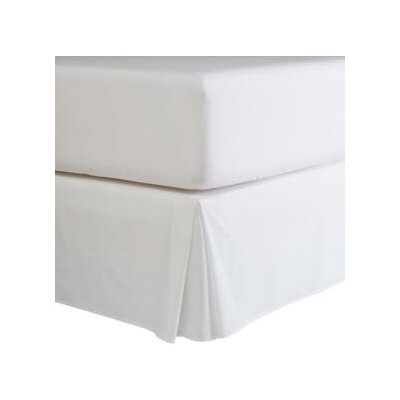 Isabelle Solid Bed Skirt Size: Double, Color: Chocolate