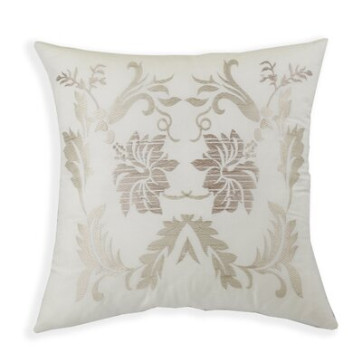 Park Avenue Embroidered Throw  Pillow