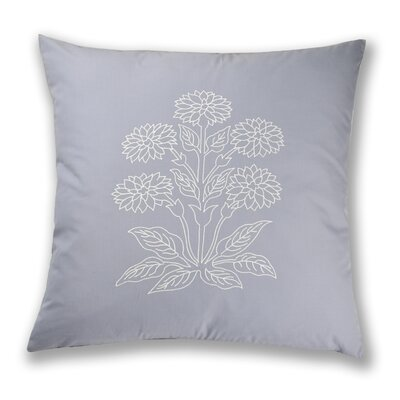 Athens Embroidery Cotton Throw Pillow