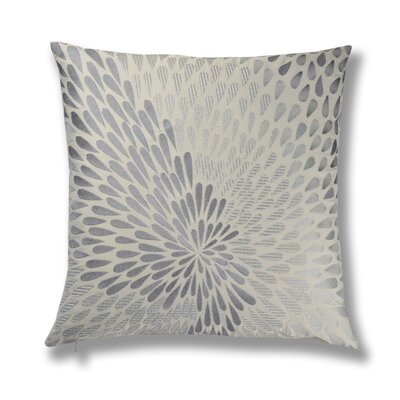 Bloom Embroidery Cotton Throw Pillow
