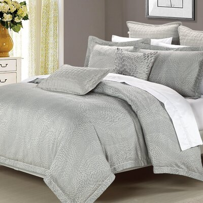 Bloom 3 Piece Reversible Duvet Cover Set Size: Queen