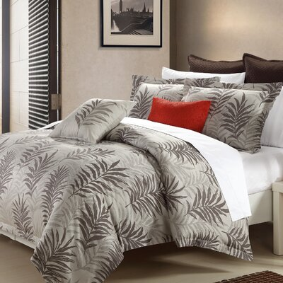 Ferndale 3 Piece Reversible Duvet Cover Set Size: King