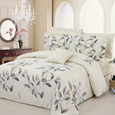 Ashford 3 Piece Duvet Cover Set Size: Queen