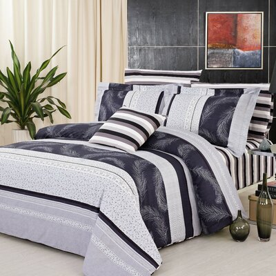 Brighton 3 Piece Duvet Cover Set Size: King