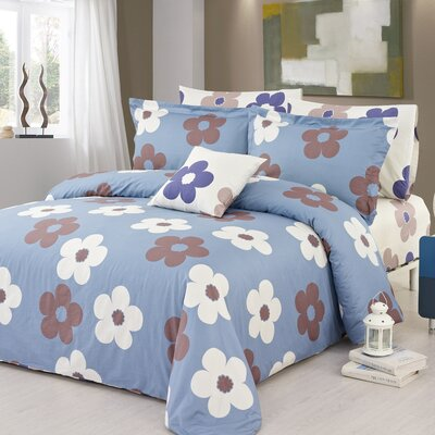 Isabelle 3 Piece Duvet Cover Set Size: Queen
