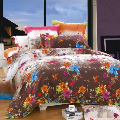 Blossom 3 Piece Duvet Cover Set NHDCKGPR0001