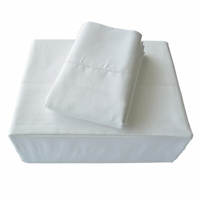 Isabelle Solid Bed Skirt Size: King, Color: White