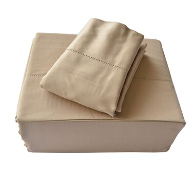 Isabelle 310 Thread Count Sheet Set Size: King, Color: Taupe