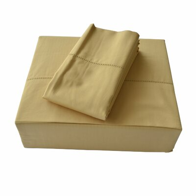 Isabelle 310 Thread Count Sheet Set Size: Queen, Color: Gold