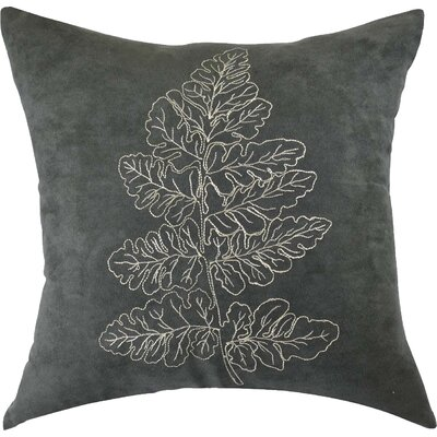 Carlton Embroidered Cotton Throw Pillow