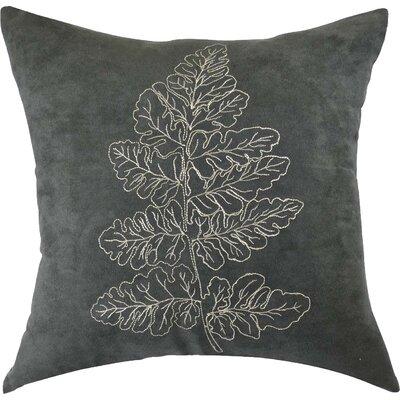 Carlton Embroidered Cotton Throw Pillow