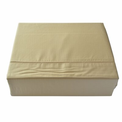 Isabelle 3 Piece Duvet Cover Set Size: Queen, Color: Gold