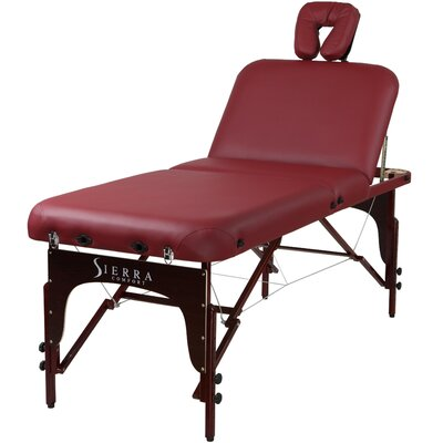 Premium Adjustable Back Rest Massage Table