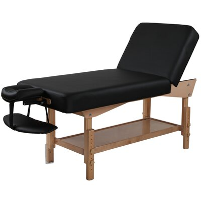 Adjustable Back Rest Stationary Massage Table
