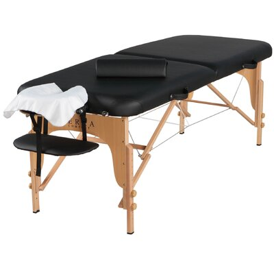 Soothe Massage Table Finish: Black