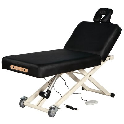 Adjustable Back Rest Electric Lift Massage Table