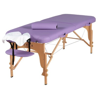 Soothe Massage Table Finish: Purple
