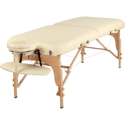 Luxe Portable Massage Table Finish: Cream